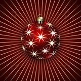 Vektor-Illustration von Weihnachtsdekorations-Bällen vektor abbildung