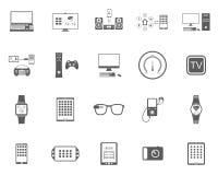 Vektor-Illustrations-Smart-Geräte Lizenzfreies Stockbild