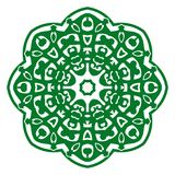 Vektor-Illustrations-Verzierung mit kaukasischen Motiven lizenzfreie abbildung
