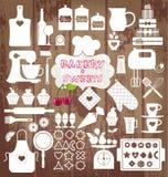 Vektor illustratuon der Bäckerei Stockfoto