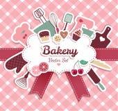 Vektor illustratuon der Bäckerei Lizenzfreies Stockfoto