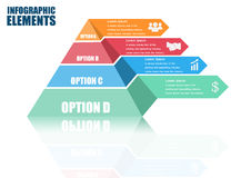Vektor infographic Lizenzfreies Stockfoto
