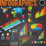 Vektor infographics Vektor Abbildung