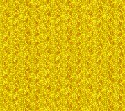 Vektor-japanisches goldenes nahtloses Muster, Wellen-Verzierung lizenzfreie abbildung