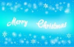 Vektor Karte der frohen Weihnachten Lizenzfreies Stockfoto