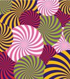 Vektor-Knall Art Abstract Pattern Background Illustration Lizenzfreie Stockfotografie