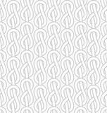 Vektor knotet nahtloses Muster Lizenzfreie Stockfotografie
