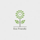 Vektor-ökologisches Logo Lizenzfreie Stockfotografie