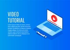 Vektor-Konzept für on-line-Bildung stockfotografie