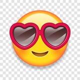 Vektor-Liebe Emoticon-Illustration Stockbilder
