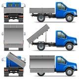 Vektor Lorry Icons Set 4 Stockbilder