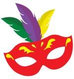 Vektor Mardi Gras Carnival Mask Stockfoto