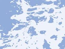 Vektor-Meerwasser und schäumen überlagerte Beschaffenheit stock abbildung