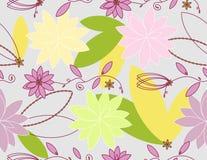 Vektor mit Blumen Lizenzfreies Stockbild