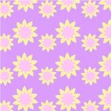 Vektor-Musterblume des Werbe-Ideen-Designs grafische Lizenzfreie Stockfotografie