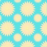 Vektor-Musterblume des Werbe-Ideen-Designs grafische lizenzfreie abbildung