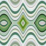 Vektor-nahtloser abstrakter gewellter Hintergrund Lizenzfreies Stockfoto