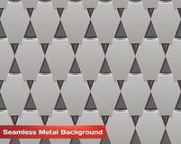 Vektor-nahtloser Metallhintergrund Lizenzfreies Stockbild