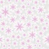 Vektor-nahtloser Muster-mit Blumenhintergrund Stockbild