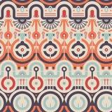 Vektor-nahtloses Kreis-Konzept-Muster Stockfotos
