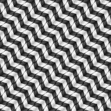Vektor-nahtloses Muster der optischen Täuschung Stockbilder