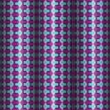 Vektor-nahtloses Muster der optischen Täuschung Lizenzfreies Stockfoto