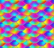 Vektor-nahtloses Muster, Regenbogen-Farbskala, bunter endloser Hintergrund vektor abbildung