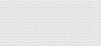 Vektor-nahtloses Muster, Schwarzweiss-Gitter, Hintergrund vektor abbildung