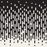 Vektor-nahtloses Schwarzes zum weißen vertikalen Rechteck zeichnet geometrischen Farbübergang vektor abbildung
