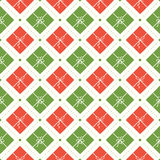 Vektor-nahtloses Weihnachtsmuster Stockbilder