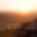 Vektor-Natur-undeutlicher Hintergrund Stockfotografie