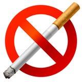 Vektor Nichtraucher stock abbildung