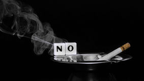 Vektor Nichtraucher Lizenzfreies Stockbild