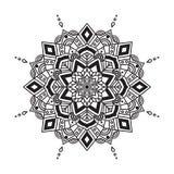 Vektor Ornamental-Mandala stock abbildung