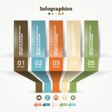 Vektor-Papierorigami-Effekt Stockfotografie