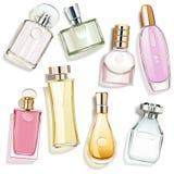 Vektor-Parfüm-Glasflaschen vektor abbildung