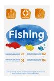 Vektor-Plakat-Schablonen mit Aquarell-Farben-Spritzen Stockbilder
