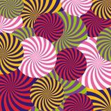 Vektor-Pop-Arten-Zusammenfassungs-Muster Stockfoto