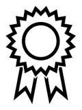 Vektor-Preis-Band-Linie Ikone Lizenzfreie Abbildung