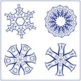 Vektor-Satz abstrakte heilige Geometrie-Symbole Lizenzfreies Stockbild