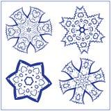 Vektor-Satz abstrakte heilige Geometrie-Symbole Lizenzfreie Stockfotos