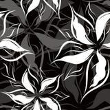 Vektor. Seamless blom- modell Royaltyfri Fotografi