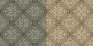 Vektor. Seamless klassisk Wallpaper Royaltyfri Foto