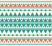 Vektor-Stammes- ethnischer abstrakter Muster-Illustrations-Hintergrund Lizenzfreies Stockbild