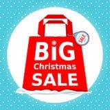 vektor Stor julförsäljning Ferie Sale med Arkivbilder