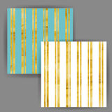Vektor-Streifen-nahtloses Muster mit Goldfolien-Stempel-Effekt Lizenzfreie Stockbilder