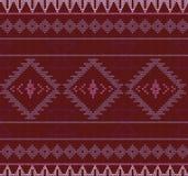 Vektor stucken aztec sömlös bakgrund Royaltyfri Bild