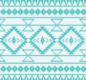 Vektor stucken aztec sömlös bakgrund Fotografering för Bildbyråer