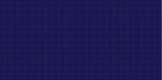 Vektor-Technologie-futuristisches nahtloses Muster, dunkelblauer Hintergrund lizenzfreie abbildung