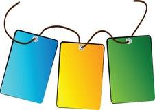 Vektor-Verkaufs-Tags/Aufkleber Stockfotos